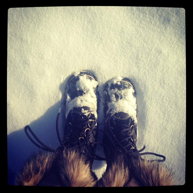 I use these boots to walk to work in the snow. Cozy!