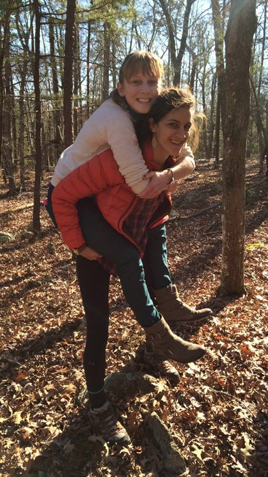 And the best way to wander is via piggyback