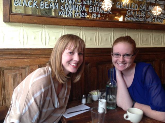 Waxing poetic re: politics with high school friend Katy