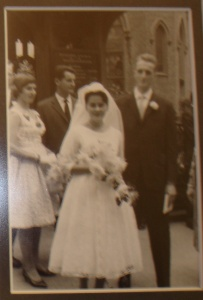 The first time my grandparents' wedding photos have been seen by the internet!