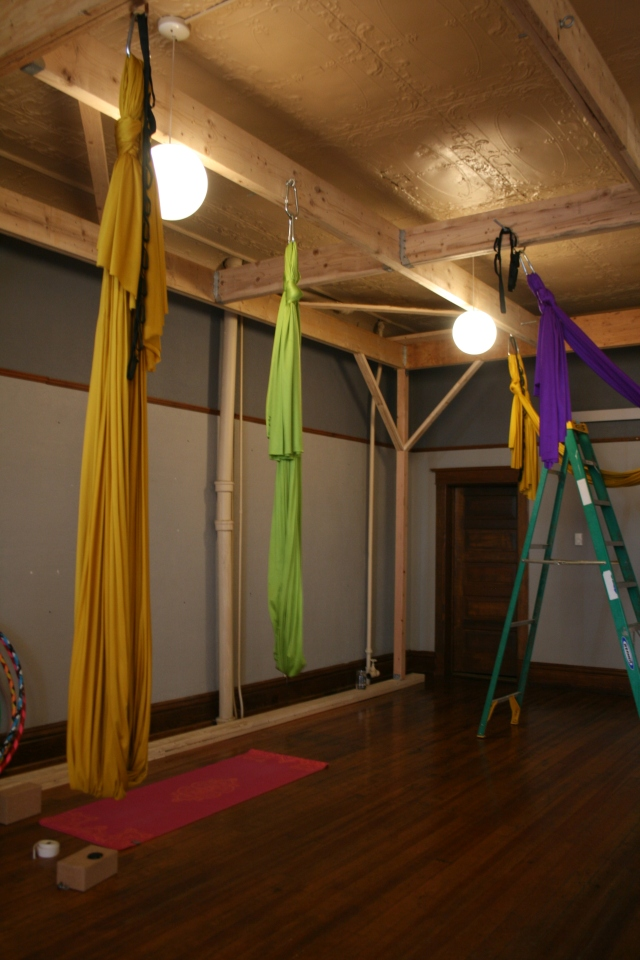 Inside Infinite Balance Studio in Laramie