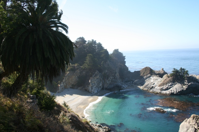Big Sur, view from Julia Pfeiffer Burns State Park overlook