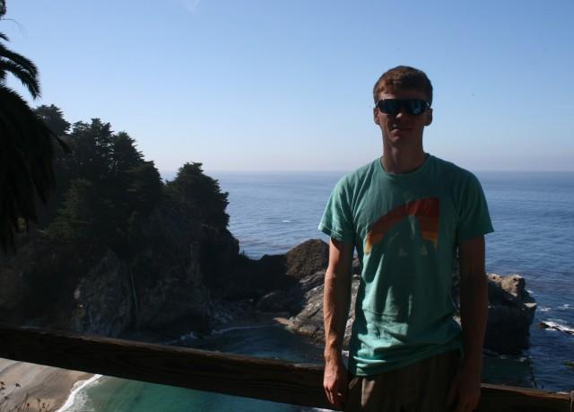 Matt at the overlook