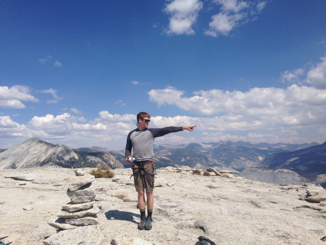 HALF DOME SUMMIT.
